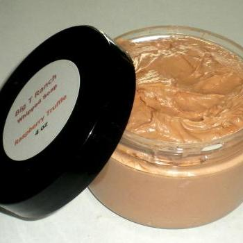 Whipped Soap - Soap in a Jar - Raspberry Truffle - 4 oz