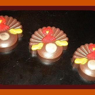 Soap - Turkey - Thanksgiving Turkey Soap - Vanilla Hazelnut, Gingerbread & Spice, or Almond Scented